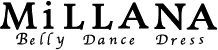 ベリーダンス衣装MiLLANA logo画像