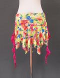 イエロー花柄ヒップスカーフ2 ミラーナ